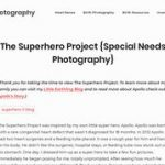 The Superhero Project (Special Needs Photography by Little Earthling Photography)