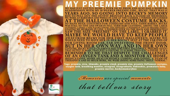 My Preemie Pumpkin